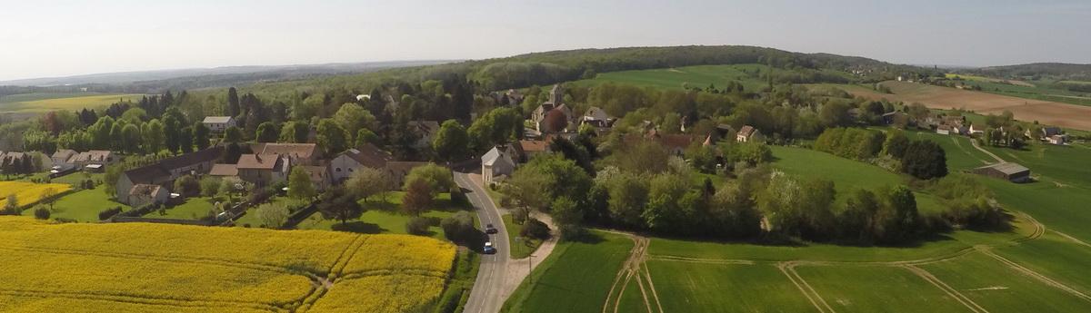 Diaporama 9 – Bréançon vu de la Route Grisy – 21/04/18